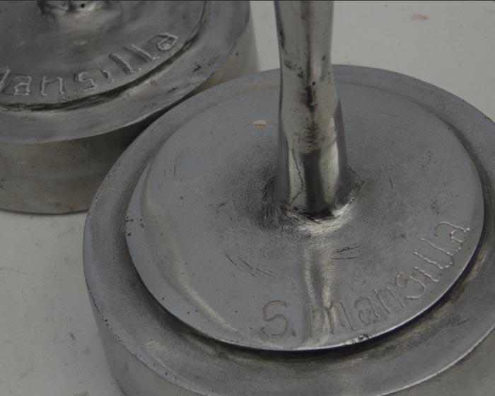 Espigas, Aluminio